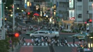 Stock Video Footage of Busy pedestrian in Shinjuku, Tokyo, Japan