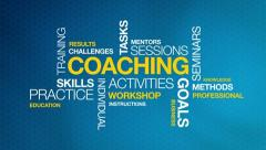 Coaching - stock footage