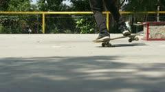 Skateboarders - stock footage