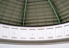 Stock Photo of roof of dome structure portrait picture