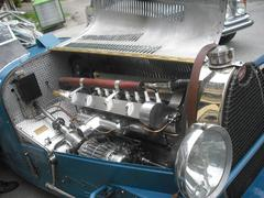 Bugatti Oldtimer Stock Photos