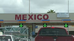 Mexico / US Border Stock Footage