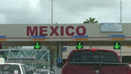 Stock Video Footage of Mexico / US Border