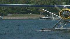 Havilland DHC-3 plane Stock Footage