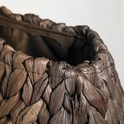 natural bag closeup - stock photo