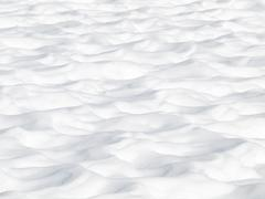Stock Photo of snow dunes