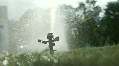 Sprinkler 11 Stock Footage