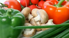 Vegetables Stock Footage
