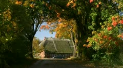 Indian Summer in Mecklenburg - Northern Germany - stock footage
