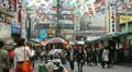 Seoul Market Street, Cheap Namdaemun Market, Asian Shop, Shoppers, South Korea Footage