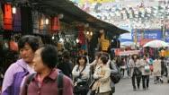 Namdaemun Market, Asian Shop, Seoul Market Street, Cheap Shoppers, South Korea Stock Footage