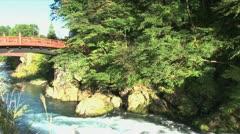 The Sacred Bridge water timelapse Stock Footage