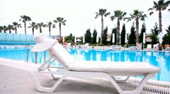 Stock Footage Clip Waterpool Stock Footage