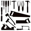 Woodwork tools Stock Illustration