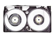 Stock Photo of vhs video tape cassette isolated on white background