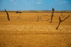 Guajira Wasteland Stock Photos