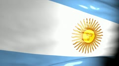 Crisis location map series, Argentina. Stock Footage