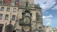 Stock Video Footage of The Prague Astronomical Clock