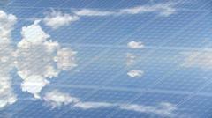 Photovoltaic panel Stock Footage