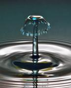 Waterdrop Sculpture 020 - stock photo