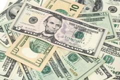 American dollars background / usd background texture Stock Photos