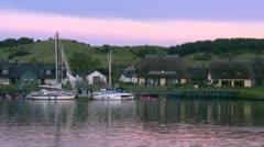 Summer Evening on Mönchgut Peninsula - Rügen Island, Baltic Sea Stock Footage