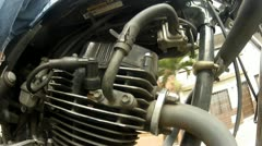 Moottoripyörän moottori, Scooter, Mopo, Motors Arkistovideo