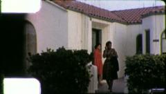 Young Black WOMEN African American 1970s Vintage Film Home Movie Footage 5261 Stock Footage