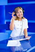 Stock Photo of woman dispatcher