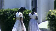 AFRICAN AMERICAN Black Teenage Girls 1965 (Vintage Film Home Movie) 5274 Stock Footage