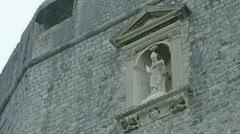 Dubrovnik St. Blasius patron of Dubrovnik - stock footage
