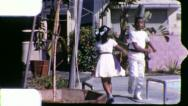 Black Chilren DANCE African American 1970s Vintage Film Home Movie 5280 Stock Footage