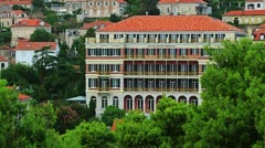 Dubrovnik Grand Hotel Imperial Stock Footage