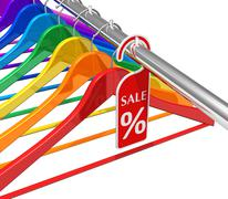 Sale and discount concept Stock Illustration