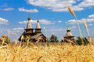 Stock Photo of Wooden church