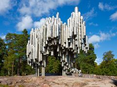 Stock Photo of Sibelius monument in Helsinki, Finland