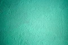 wall painted with turquoise - stock photo