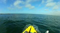 Kayak POV V3 - HD Stock Footage