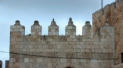 Tower of David in Jerusalem a Stock Footage