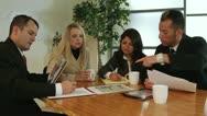 Corporate meeting Stock Footage