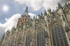 cathedral in den bosch. netherlands - stock photo
