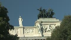 Austrian Parliament in Vienna Stock Footage