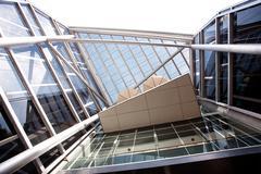 High-tech exterior of a modern office building Stock Photos