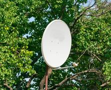 Satellite antenna Stock Photos