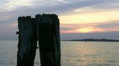 Sunset on Rügen Island - Baltic Sea, Northern Germany Stock Footage