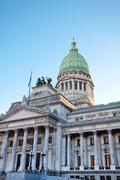 Stock Photo of building of congress  in buenos aires, argentina