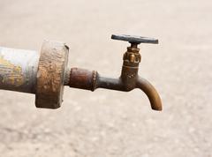 Old tap. Stock Photos