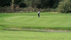Golf Three Stock Footage