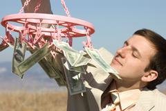 scent of money - stock photo