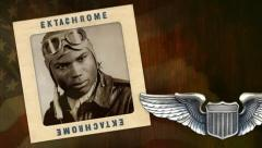 Tuskegee Airmen (RED TAILS fighter pilots) | World War 2 Stock Footage